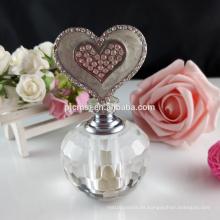 Botella de perfume cristalina hermosa 3ml para el regalo y la decoración