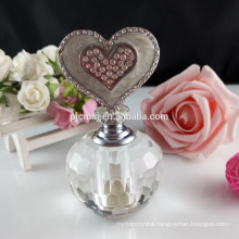 3ml beautiful crystal perfume bottle for gift and decoration