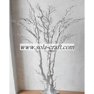 Silver Artificial Wedding Tree With Branch No Leaf And Blossom 150CM
