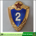 Antique Brass Plated Customized Design Metal Shield