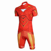 Custom Iron Man Short/Long Sleeve Cycling Wear, Welcome Small Order