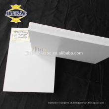 JINBAO placa de espuma extrudado placa pvc folha celuka para decoração de parede