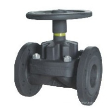 Cast Iron Weir Type Diaphragm Valve