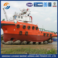 Hot Sale 2M x 18M Heavy Lifting Rubber Marine Ship Launching Airbag