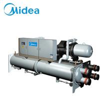 Midea industrial air cooler hvac water spiral  chiller plant unit system