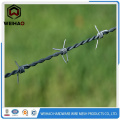 Hot Dipped Galvanized And Pvc Coated Barbed Wire