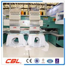 Alta precisão 2 cabeças de máquina de bordar máquina de bordar quente na China