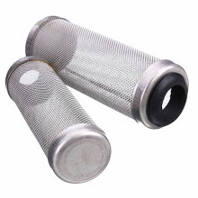 Fish tank accessories stainless steel fish shrimp safe protector mesh filter tube