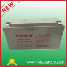 Nouvelle batterie de gel solaire 12V 150ah sur mesure
