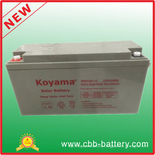 Good Quality 12V150ah Battery Solar Storage Battery Solar Opzs Battery