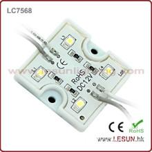 Hot sales 0.5W/pc 4pcs leds 12Vdc led display module LC7568