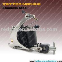Aço inoxidável 10 bobinas máquina de tatuagem