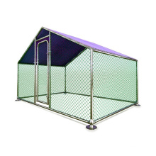 Wholesale High Quality Large Metal Chicken Run 4x3x2 / 6x3x2 / 8x3x2m Chicken Coop Cages For Agriculture Field Breeding Hen Run