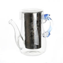 Новый продукт Glass BloomingTeapot с Infuser