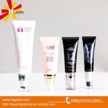 clear plastic tube for cosmetic packaging