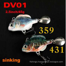 2.5inch 45g Sinking Hard Fishing Lure