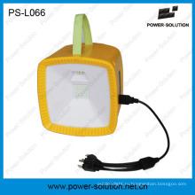 Перезаряжаемые солнечной энергии фонарик Радио сь с мобильного телефона солнечное зарядное устройство