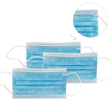 Modenna mascarilla desechable azul 50 piezas