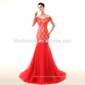 red wedding dress 2017 new model mermaid lace bridal dresses