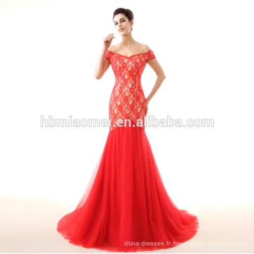 robe de mariée rouge 2017 nouveau modèle sirène robes de mariée en dentelle