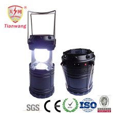 New Style Camping Lantern with Solar Panel