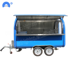 Good Quality for Food Truck Tow-able mobile food carts trailer selling ice cream supply to Somalia Factories