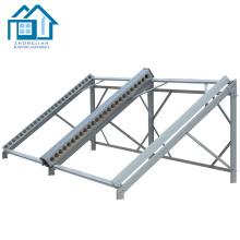 Support de fixation de panneau solaire en aluminium réglable pour systèmes d'énergie solaire