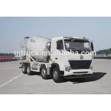 Dayun 6X4 drive cement mixer truck for 6-12 cubic meter