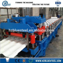 metal roof tile forming machine, 828 type popular step tile sheet forming machine for africa market