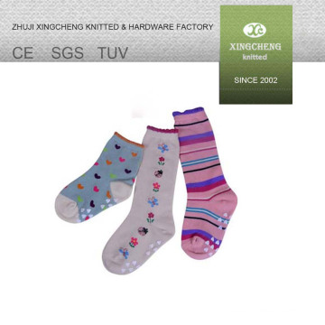 100% cotton socks boot winter thick socks colorful cozy cheap socks led lights christmas socks