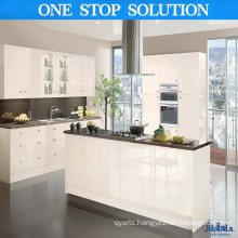 Creamy White High Gloss Kitchen Cabinet
