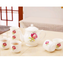 Fashion Design Elegant Tea Pot Ceramic Tea Set
