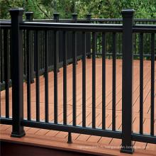 Maille galvanisée de clôture de palissade de PVC galvanisée