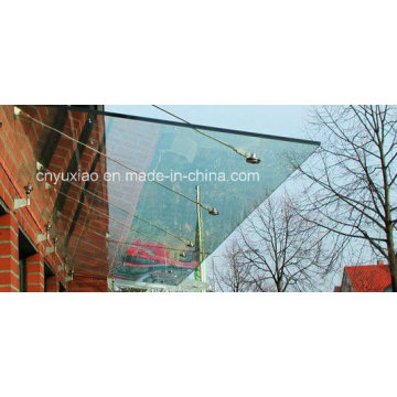 Polycarbonate Sheet for Aluminium Door Canopy