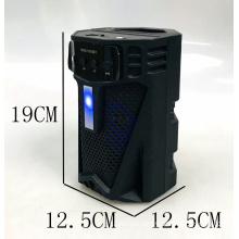 OKFLY HSD-1513BT Active Speaker 4 Inch Blue Tooth Plastic Guitar Portable Karaoke Flash Led Light Backpack Sound System Speaker