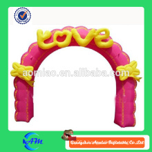 Décoration de mariage arc d'entrée gonflable à vendre
