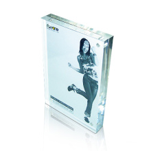 Hot Sales Clear Acrylic Poster Display Frame, Acrylic Signage Block