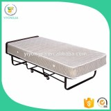 hotel extra bed folding bed / hotel bed frame / wrought iron canopy bed FB-01