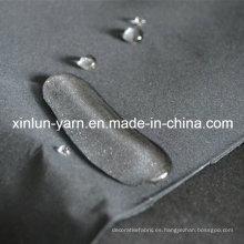 Tejido de tela de poliéster de tela cruzada para ropa de invierno