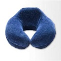 Disposable neck pillow memory foam travel cover
