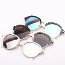 Hecho en las gafas de sol ULTRAVIOLETA del marco de la CA del lujo de la etiqueta privada de la moda de China, gafas de sol del diseñador auténticas