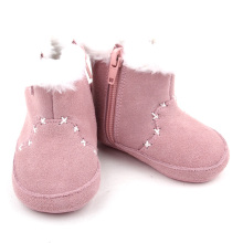 Różowy Winter Warm Toddler shoes