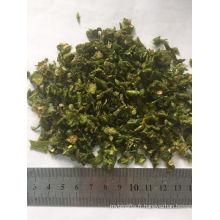 Poivron vert déshydraté séché à l'air chaud de vente