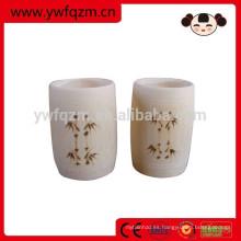 Taza de vino de bambú hecha a mano de la venta caliente para la venta