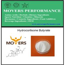 Butyrate d'hydrocortisone de haute qualité avec numéro CAS: 13609-67-1
