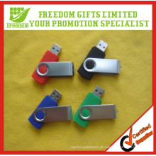 O logotipo relativo à promoção imprimiu as movimentações instantâneas do USB em massa barato