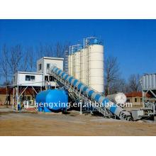 HZS100 Mezcladora mezcladora de hormigón mezclada listo mezclado Máquina mezcladora concreta