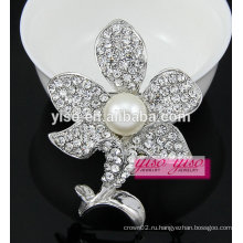 Мода свежий прекрасный кристалл цветок брошь