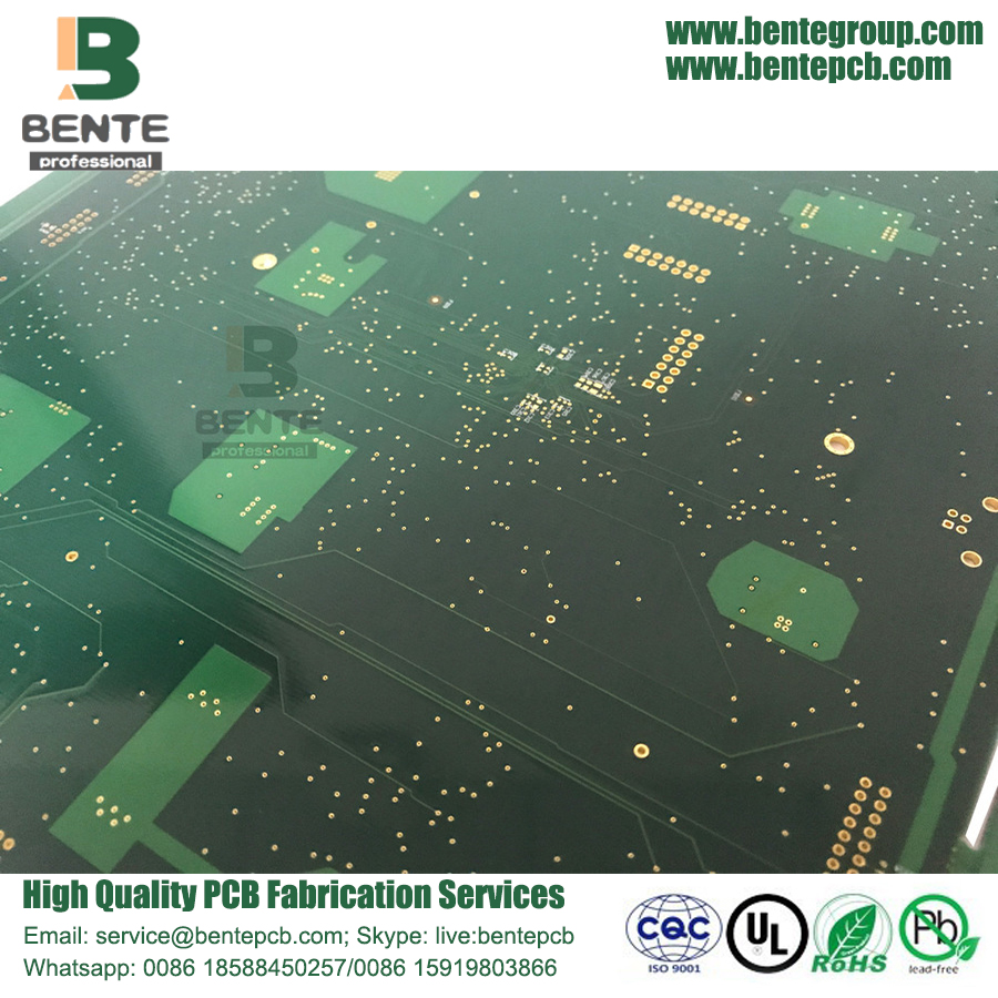 ENIG 3U Multilayer PCB 6 camadas FR4 Tg170