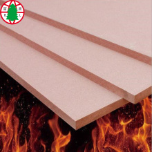 Flame retardant fireproof pink color MDF board